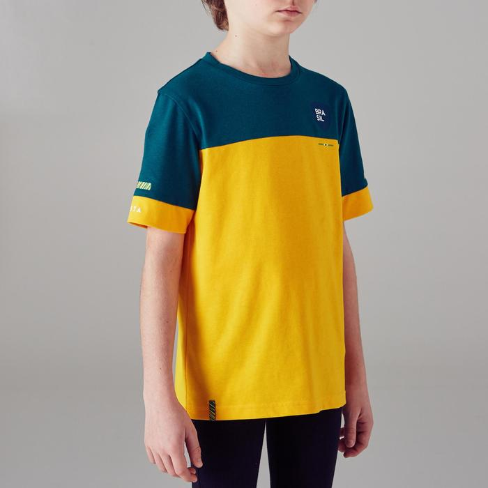 T-shirt de football enfant FF100 Brésil - 1300154