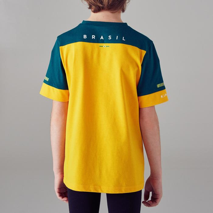 T-shirt de football enfant FF100 Brésil - 1300156