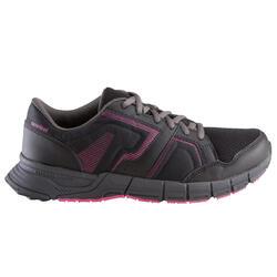 Damessneakers Propulse Walk zwart/roze - 130017