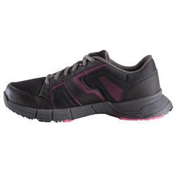 Damessneakers Propulse Walk zwart/roze - 130018