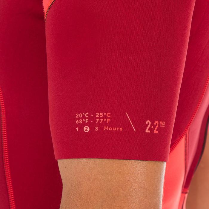 Combinaison Surf Shorty 500 stretch Néoprène 2mm homme - 1300220