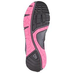 Damessneakers Propulse Walk zwart/roze - 130023