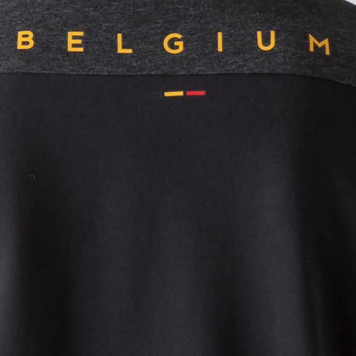 T-shirt de football enfant FF100 Belgique noir