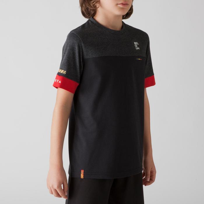 Camiseta de fútbol niños FF100 Bélgica negro