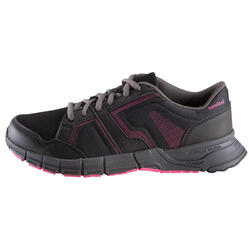 Damessneakers Propulse Walk zwart/roze - 130026