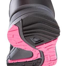 Damessneakers Propulse Walk zwart/roze - 130029