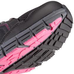 Damessneakers Propulse Walk zwart/roze - 130031