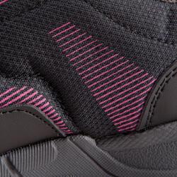 Damessneakers Propulse Walk zwart/roze - 130035