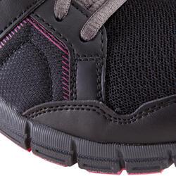 Damessneakers Propulse Walk zwart/roze - 130037
