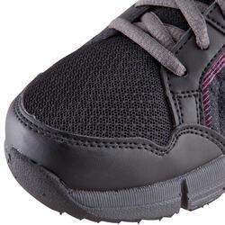 Damessneakers Propulse Walk zwart/roze - 130038