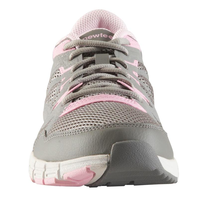 Chaussures marche rapide femme Propulse Walk 200 gris clair / rose