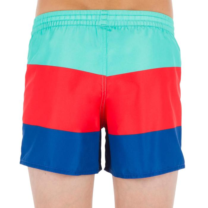 Surf Boardshort corto 100 Kid Block azul