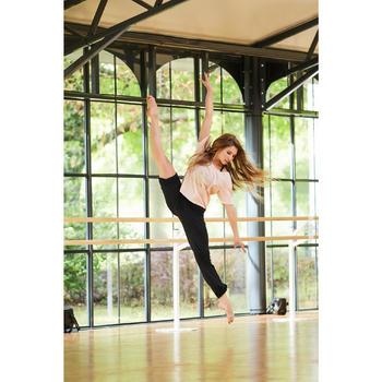T-shirt court de danse femme - 1300528