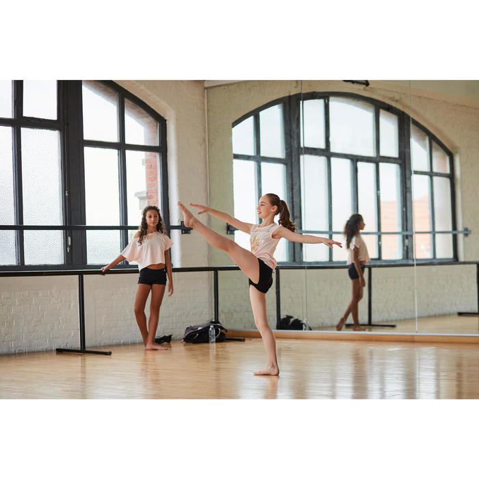 Tanzshorts Mini Hotpants Kinder schwarz