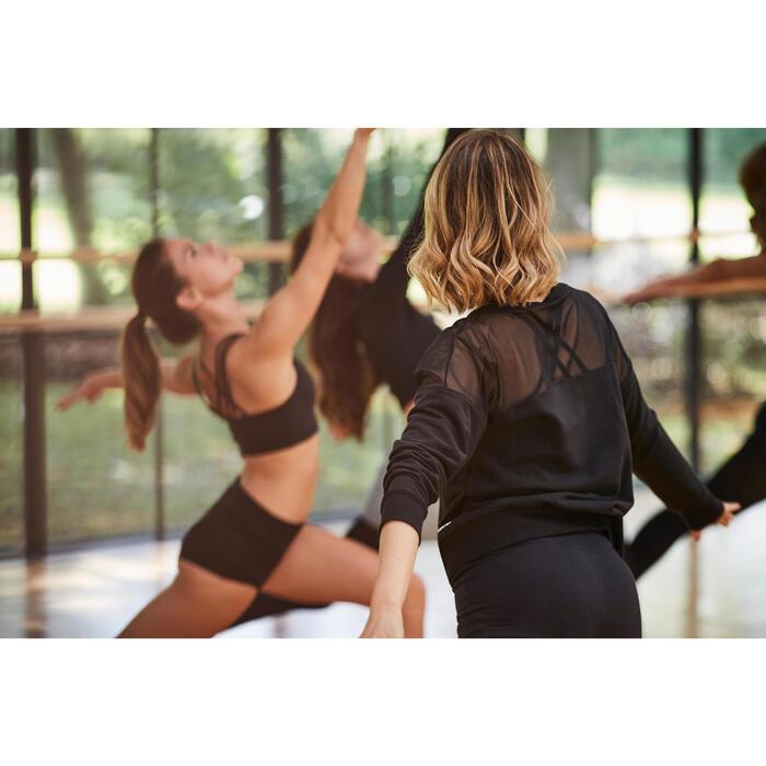 Sweat de danse femme gris - 1300533