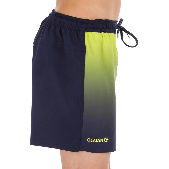Kurze Boardshorts Surfen 500 Sunset Kinder gelb