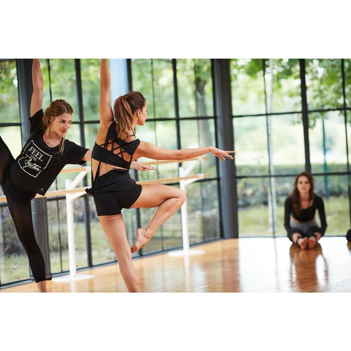 Mini short de danse femme noir - 1300546