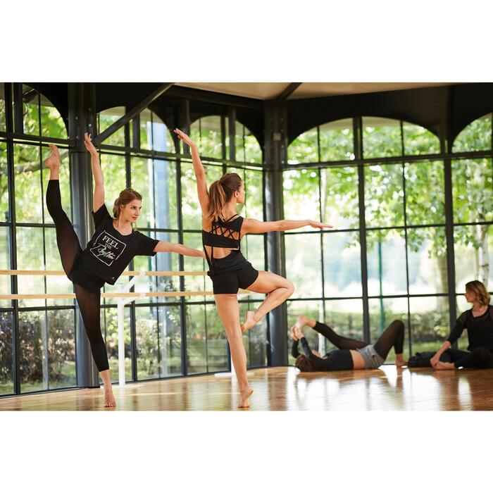 Mini short de danse femme noir - 1300547
