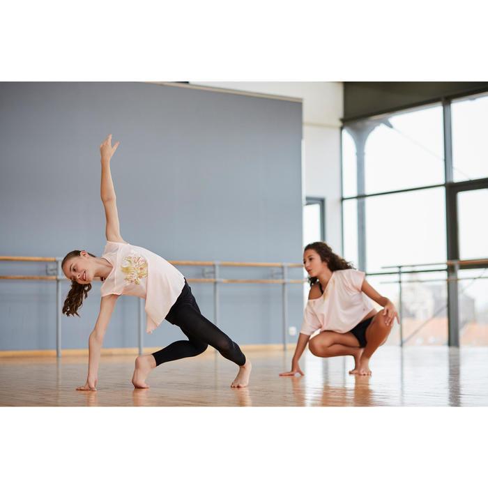 Leggings Tanzen Mädchen schwarz