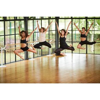 Tunique de danse à fines bretelles danse femme noire - 1300581
