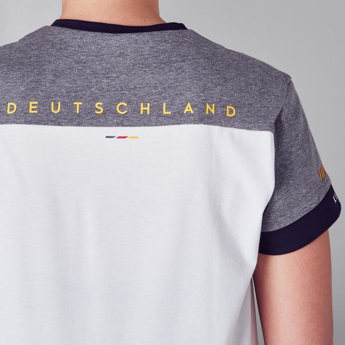 Fußballtrikot FF100 Deutschland Damen weiß