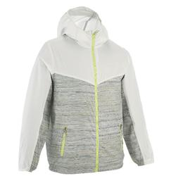 Helium 500 Girl's Windproof Lined Hiking Jacket - Grey
