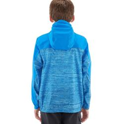Helium 500 Girl's Windbreaker Hiking Jacket - Lined Blue