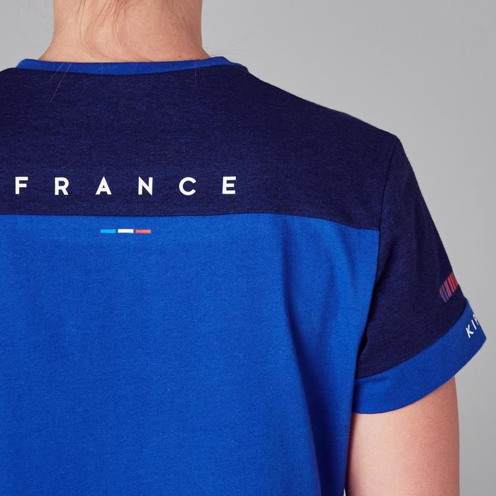 Camiseta de fútbol mujer FF100 Francia azul