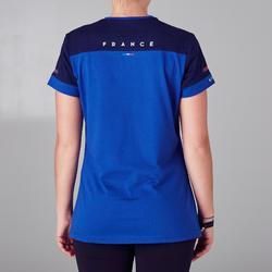 Voetbalshirt voor dames FF100 Frankrijk blauw