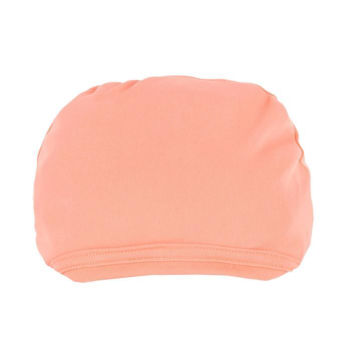 Uv-werend zwemshirt met korte mouwen voor dames, voor surfen, fluokoraal - 1300788