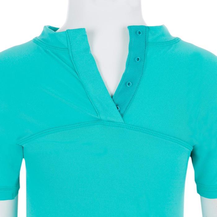 Uv-werend shirt 100 met korte mouwen voor peuters turquoise - 1300831