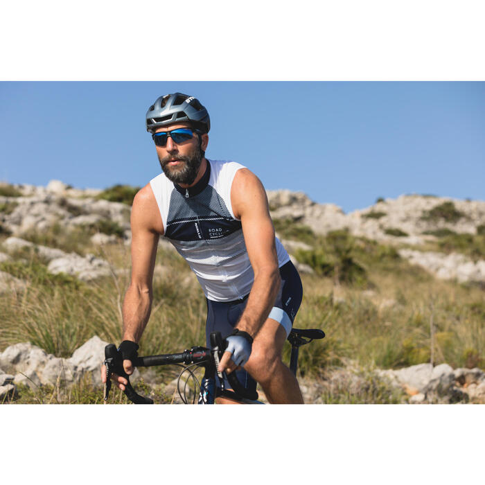 MAILLOT VELO SANS MANCHES HOMME ROADC 900 NAVY - 1301008