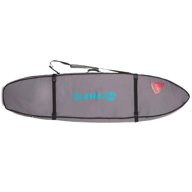 PŘEVOZ A USKLADNĚNÍ PRKNA Surfing a bodyboard - CESTOVNÍ OBAL 900 2 SURFY 7' OLAIAN - Surfy, bodyboardy a skimboardy