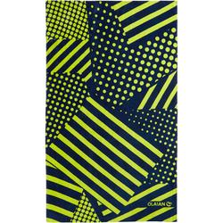 Strandhandtuch Basic L Print Square 145×85cm