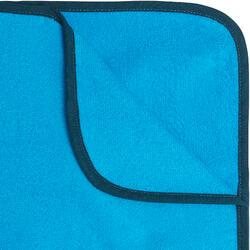 Poncho Toalla Playa Surf Olaian 500 Adulto Azul Cambiador