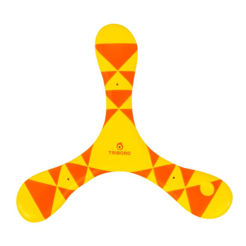 Left-Handed Soft Boomerang - Orange