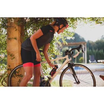 MAILLOT VELO MANCHES COURTE FEMME 500 - 1301488