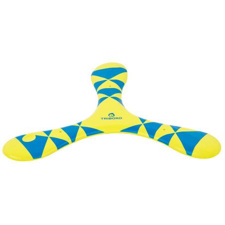 Boomerang souple gaucher bleu