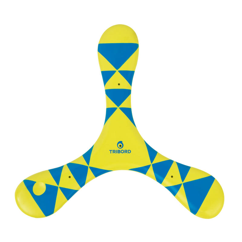 Left-Handed Soft Boomerang - Blue
