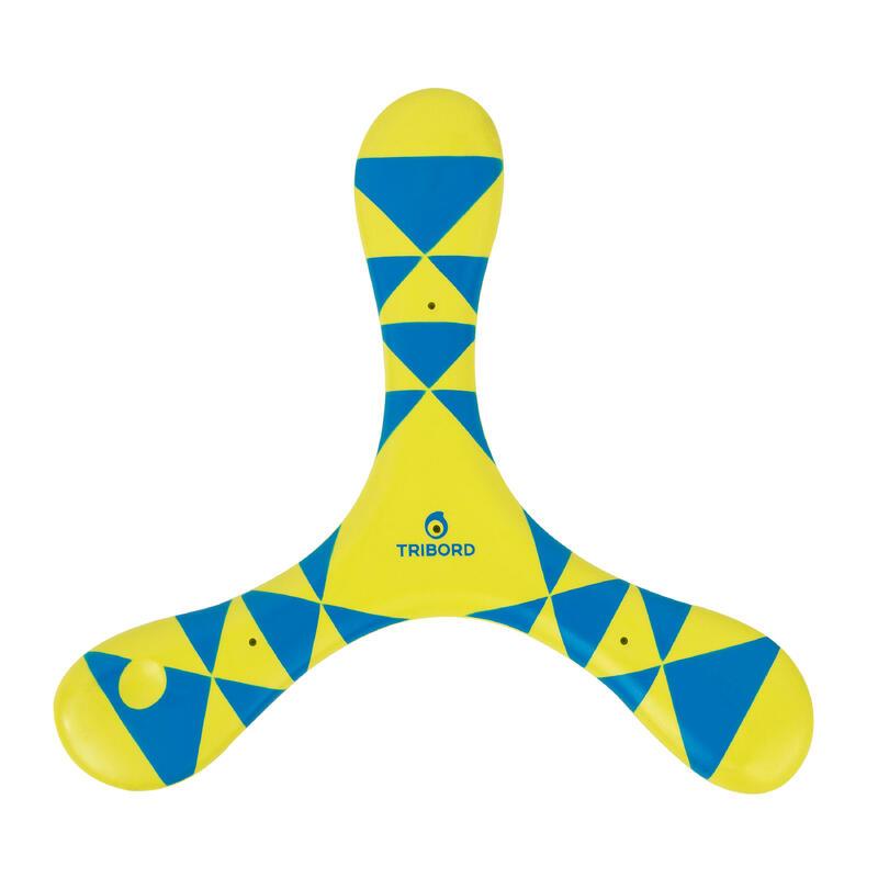 Boomerang soft gaucher Bleu