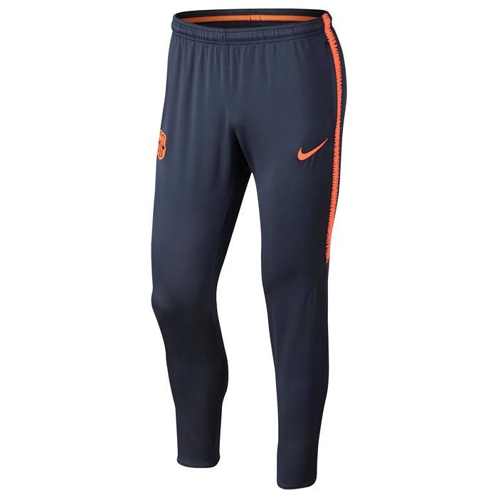 Trainingsbroek Barcelona 17/18 voor volwassenen blauw/oranje - 1301554