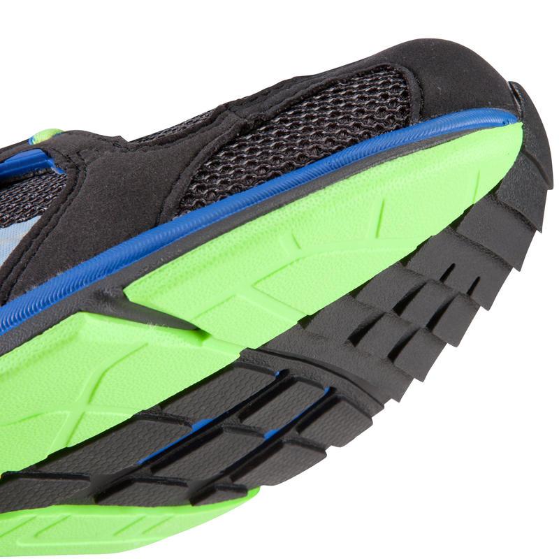 Chaussures marche rapide homme Propulse Walk 400 noir / vert / bleu