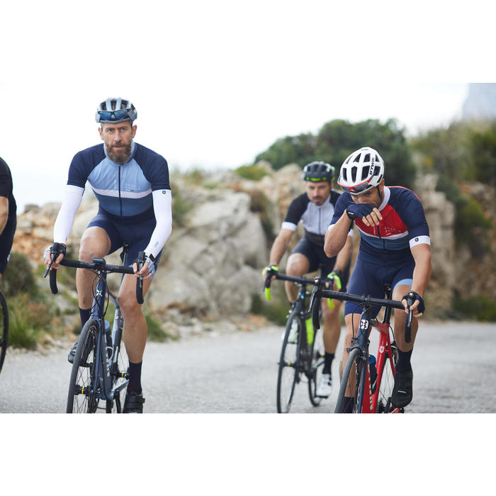 Guantes ciclismo ROADR 500 NEGRO