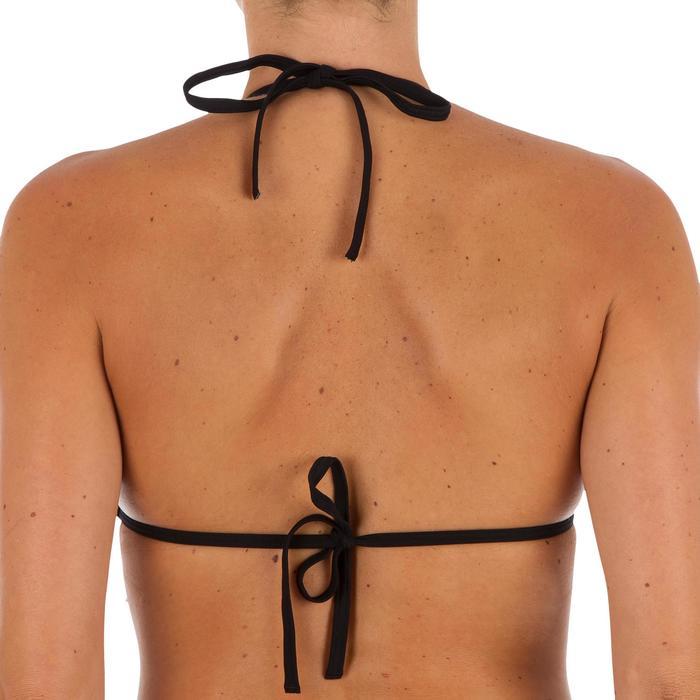 Haut de maillot de bain femme triangle coulissant avec coques MAE CORAIL - 1301837