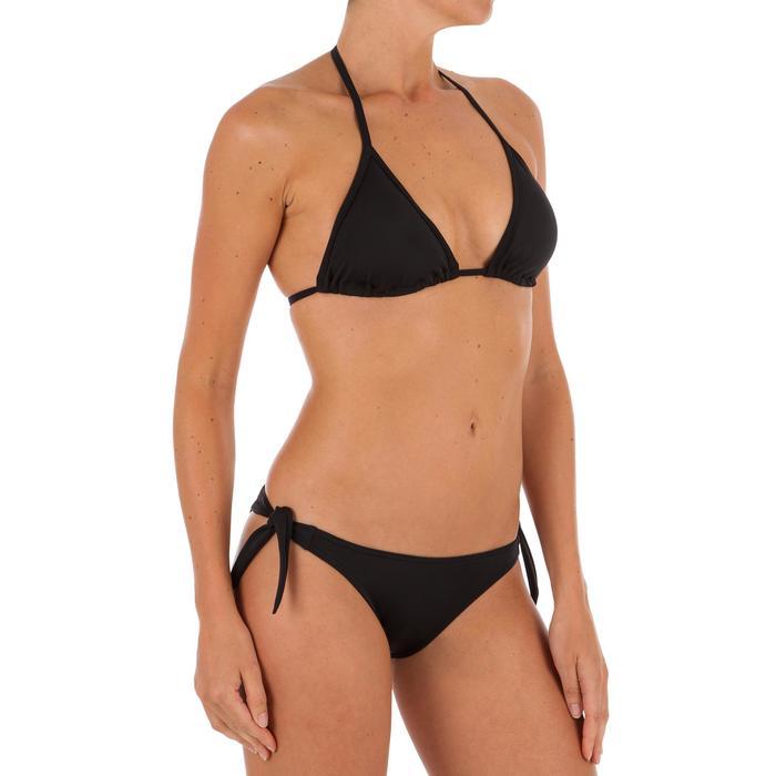 Haut de maillot de bain femme triangle coulissant avec coques MAE CORAIL - 1301839