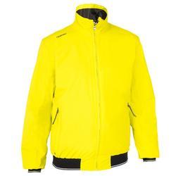 男款賽艇連帽外套Race 100-黃色