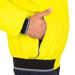 Race 100 Men's boat regatta Anorak - yellow