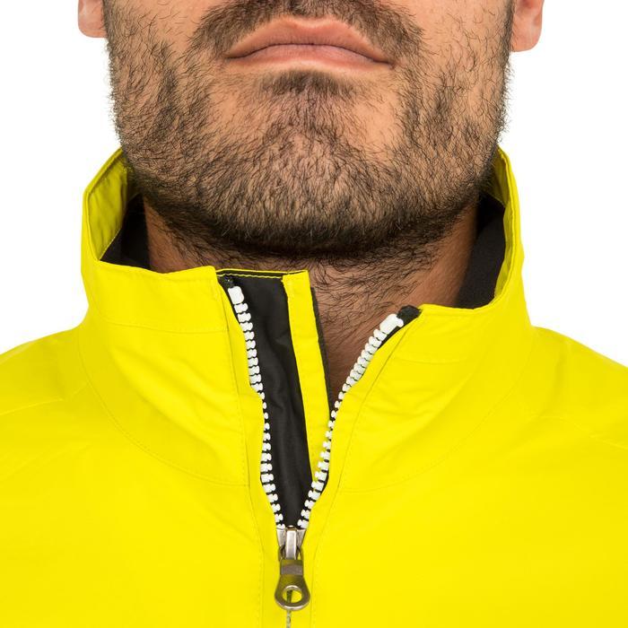 Blouson de régate bateau homme Race 100 jaune