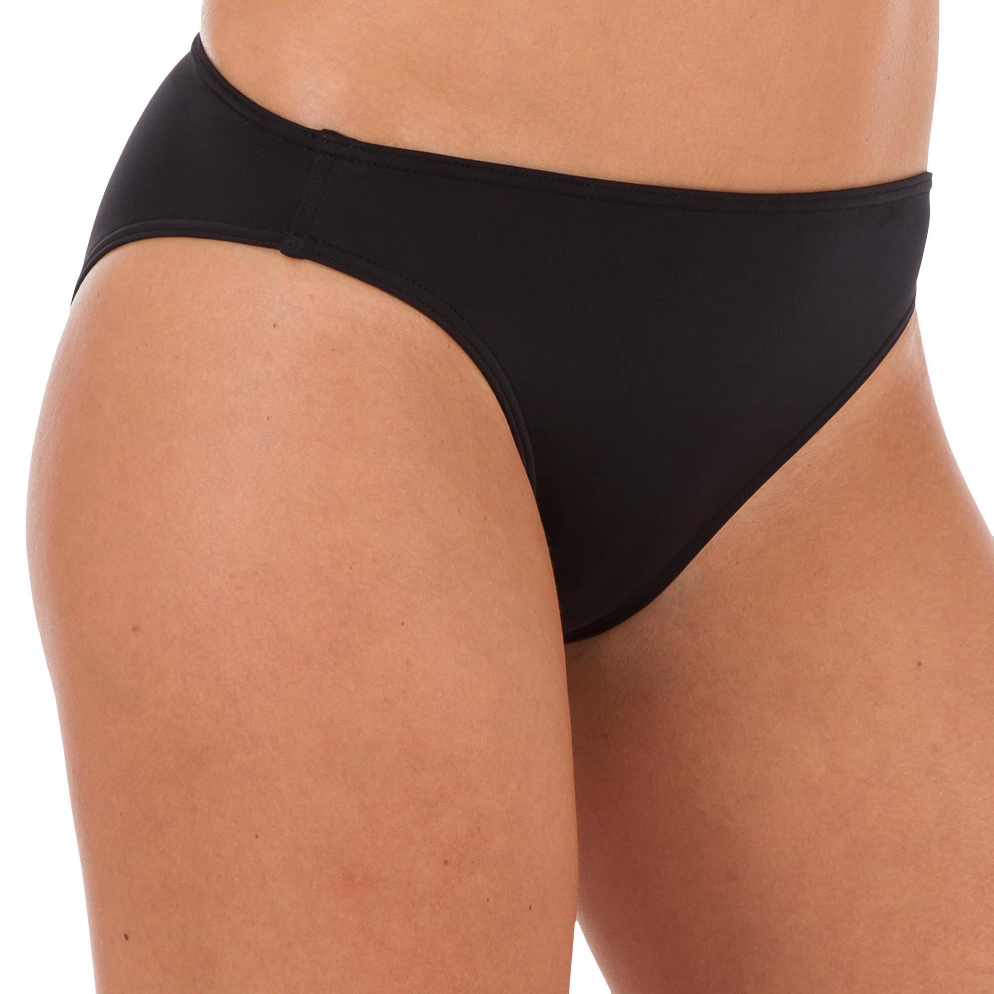 Bikinibroekje Basic klassiek model zwart