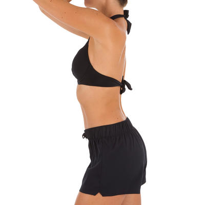 3d7ee86eff Tana Women's Boardshorts - Black - Decathlon